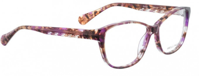 Bellinger GREEK-260 Glasses in Brown Pattern
