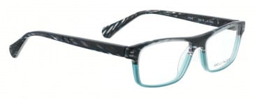 Bellinger PIT-3-255 Glasses in Black/Blue Pattern