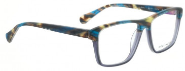 Bellinger PIT-4-402 Glasses in Matt Blue/Brown Pattern