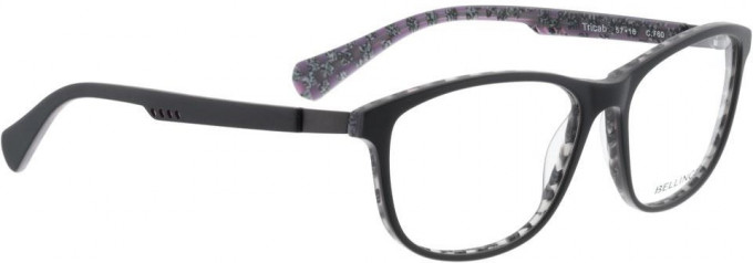 Bellinger TRICAB-760 Glasses in Matt Grey/Purple Pattern