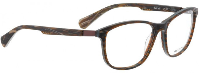 Bellinger TRICAB-242 Glasses in Matt Brown/Blue Pattern