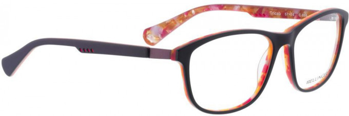 Bellinger TRICAB-656 Glasses in Matt Purple/Orange