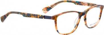 Bellinger ZIRCON-245 Glasses in Brown/Blue Pattern