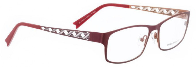 Bellinger CROSS-1-1956 Glasses in Red