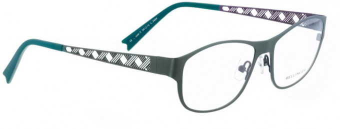 Bellinger CROSS-2-3464 Glasses in Army Green