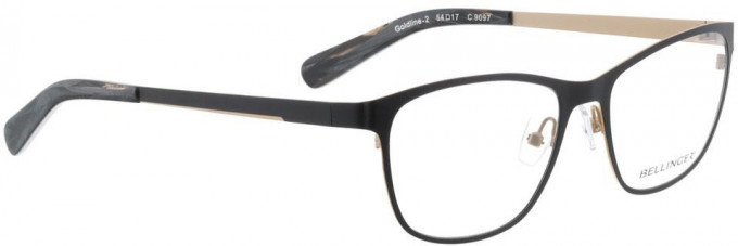 Bellinger GOLDLINE-2-9097 Glasses in Black/Matt Gold