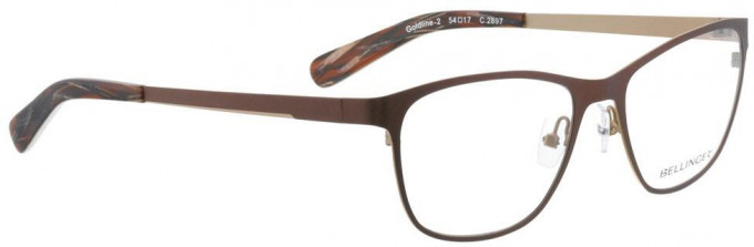 Bellinger GOLDLINE-2-2897 Glasses in Brown/Matt Gold