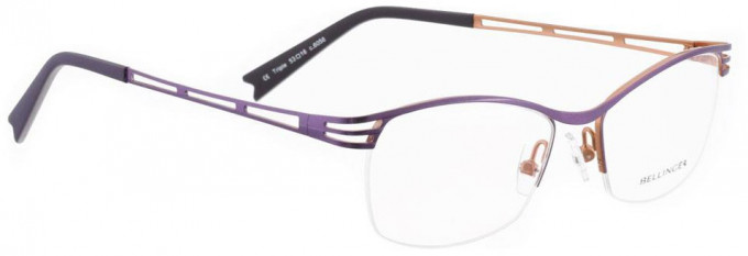Bellinger TRIPLE-6056 Glasses in Purple Pearl