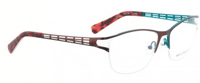 Bellinger TRUSS-1549 Glasses in Dark Red/Blue