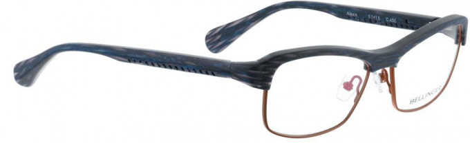 Bellinger ALEXIS-450 Glasses in Blue Pattern