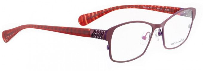 Bellinger BOUNCE-M1-10 Glasses in Red Pearl