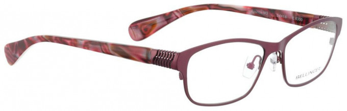 Bellinger BOUNCE-M3-6300 Glasses in Pink Cherry Pearl