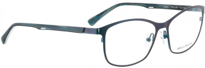 Bellinger EAGLE-4149 Glasses in Metallic Blue/Turquoise