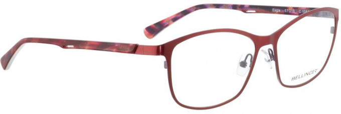 Bellinger EAGLE-1060 Glasses in Bright Red/Bright Purple