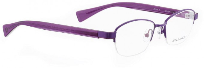 Bellinger LAYERS-1-62 Glasses in Purple Pearl