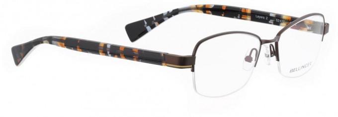 Bellinger LAYERS-2-28 Glasses in Brown