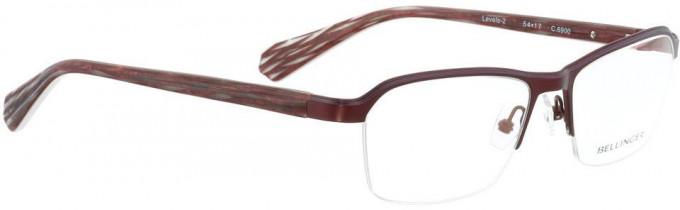 Bellinger LEVELS-2-6900 Glasses in Aubergine