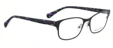 Bellinger RIBS-1-9068 Glasses in Matt Black/Purple