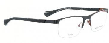 Bellinger SPEED-2-7250 Glasses in Matt Gun/Matt Orange