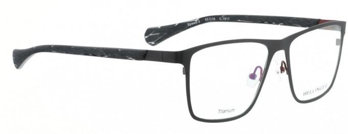 Bellinger SPEED-3-7917 Glasses in Matt Dark Grey/Matt Red