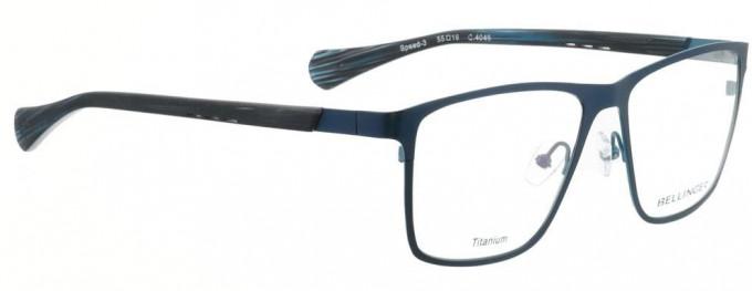 Bellinger SPEED-3-4045 Glasses in Matt Dark Blue/Matt Blue
