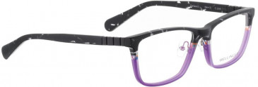 Bellinger DALLAS-2-965 Glasses in Matt Black Glitter/Purple
