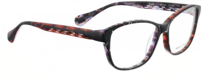 Bellinger GREEK-916 Glasses in Black/Red Purple