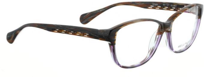 Bellinger GREEK-263 Glasses in Brown/Purple Pattern