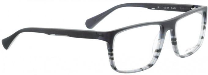 Bellinger JR-475 Glasses in Blue/Grey Pattern