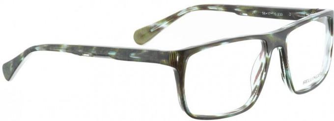 Bellinger JR-233 Glasses in Brown/Green Pattern