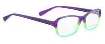 Bellinger STAR-633 Glasses in Matt Purple/Green