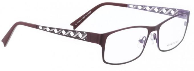 Bellinger CROSS-1-6960 Glasses in Aubergine