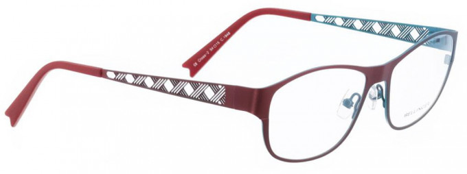 Bellinger CROSS-2-1948 Glasses in Red