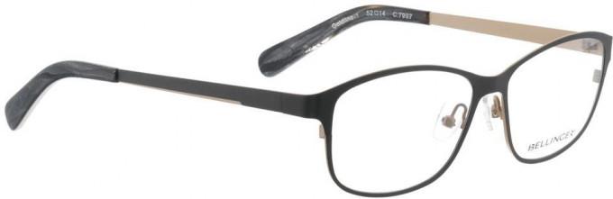 Bellinger GOLDLINE-1-7997 Glasses in Dark Matt Grey/Matt Gold