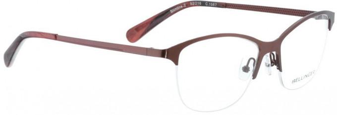 Bellinger SLIMLINE-2-1567 Glasses in Rust Red