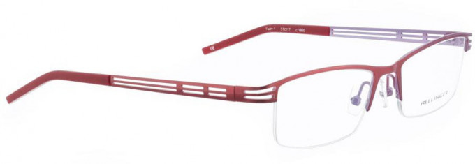 Bellinger TWIN-1-1860 Glasses in Shiny Red