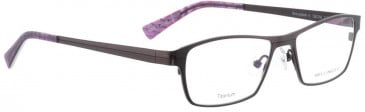 Bellinger SHINYMATT-4-6800 Glasses in Purple