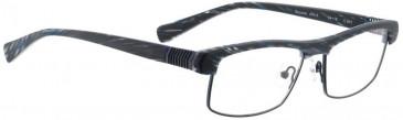 Bellinger BOUNCE-JFK-5-941 Glasses in Matt Black/Blue Stripes