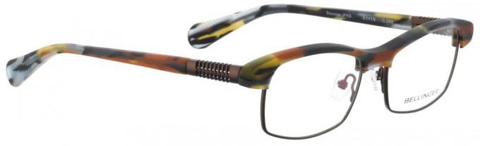 Bellinger BOUNCE-JFK-6-245 Glasses in Brown Matt Pattern