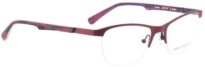 Bellinger ERMIS-6964 Glasses in Aubergine/Purple