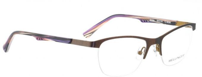 Bellinger ERMIS-6538 Glasses in Metallic Purple/Sand