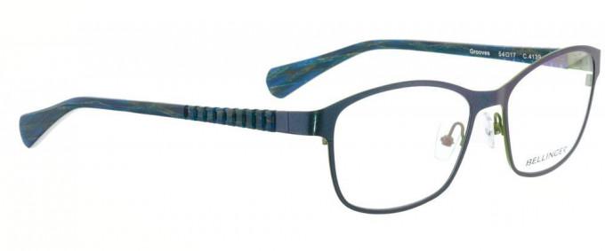 Bellinger GROOVES-4139 Glasses in Metallic Blue
