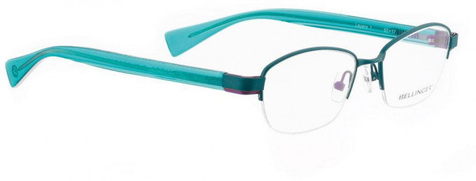 Bellinger LAYERS-1-47 Glasses in Turquoise