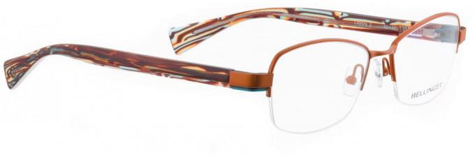 Bellinger LAYERS-2-56 Glasses in Shiny Orange