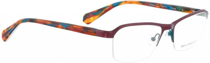 Bellinger LEVELS-2-6348 Glasses in Cherry Pearl