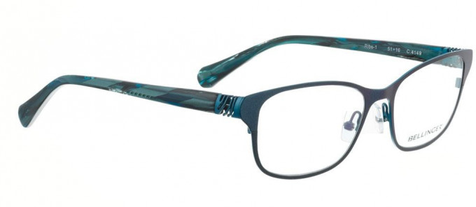 Bellinger RIBS-1-4149 Glasses in Metallic Blue/Ocean