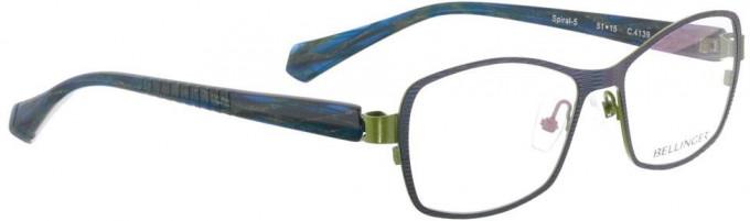 Bellinger SPIRAL-5-4139 Glasses in Blue Metallic