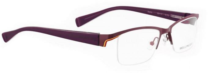 Bellinger STAIRS-69 Glasses in Aubergine