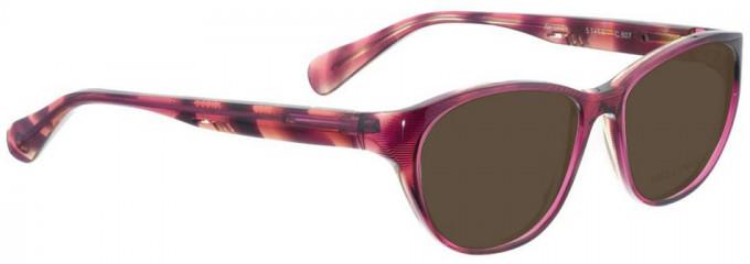 Bellinger AMANDA-607 Sunglasses in Purple Pattern