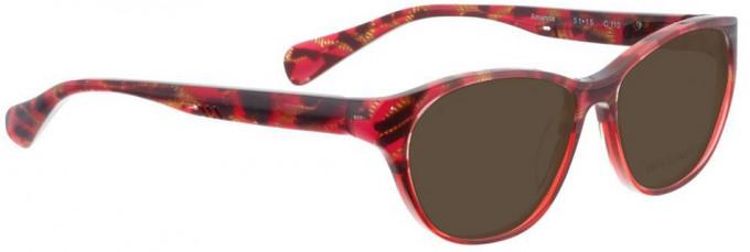 Bellinger AMANDA-110 Sunglasses in Red Pattern